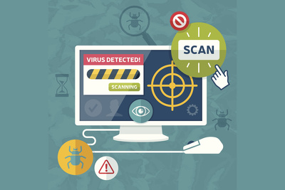 Configure your Wordpress website to scan for errors/viruses every hour