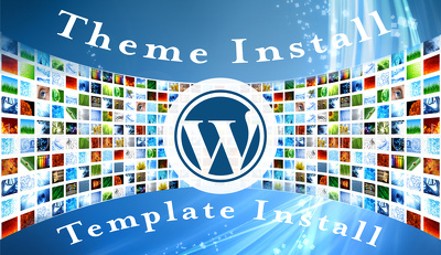 Install and configure any WordPress Theme/Template to your website like Demo/Preview