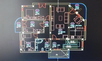 Draw a floorplan