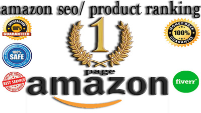 Rank your amazon keyword on 1st page with seo