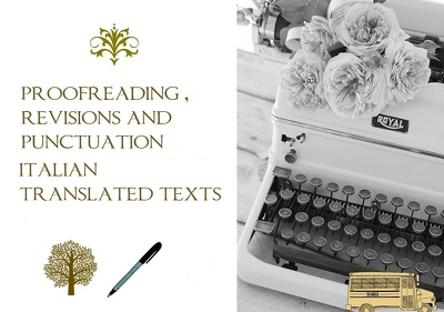 Proofreader Italian translated texts 500 words