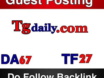 Publish a guest post on TGDaily  DA 7A PA 77 –  www.tgdaily.com , Computerworld, Inc,