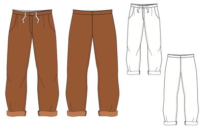 Create technical fashion illustrations