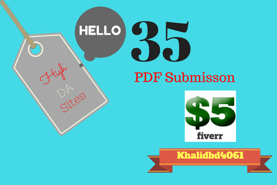 Delivery the work with in one day PDF Submission