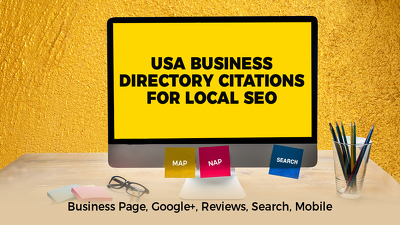 Do Manually 30 USA  Citation Sites to Boost Local SEO, USA Google Map Citations