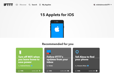 Create a Stunning IFTTT Network For Your Website or Blog