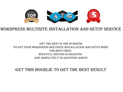 Wordpress Multisite/ Network Installation and Setup Service