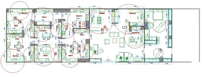Draw a floorplan