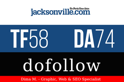 Publish a guest post on JacksonVille.com - DA74, TF58