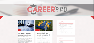 Publish Your Guest Post, Sponsored Post, or Blog Post on my general CareerPro.com