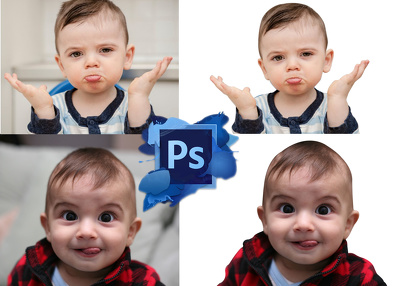 Do Photoshop Background Remove 20 Images With 24 Hours
