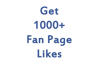 Give you 1000+ High Quality Fan Page likes