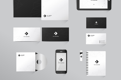 Design corporate stationery for your business