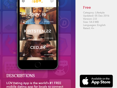 Design and develop Dating Application for iPhone & iOS