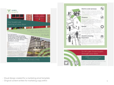 Write & Design you a 2 Page Leaflet for your Company