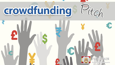 write your CROWDFUNDING campaign pitch