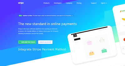Integrate Stripe payment method in your website