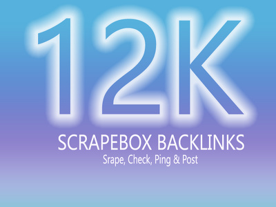 Do 12000 Scrapebox GSA Seo Backlinks To Rocket Google & Yahoo Rank  (Silver Package)
