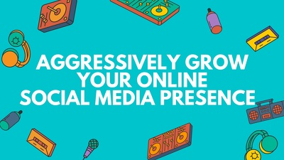 Provide a Manual Accelerated Growth Social Media Management service for 5 days