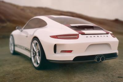 Produce a photorealisitc 3D vehicle