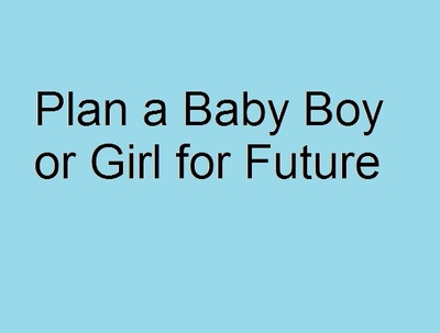 Help to plan a Baby Boy or Baby Girl in Future