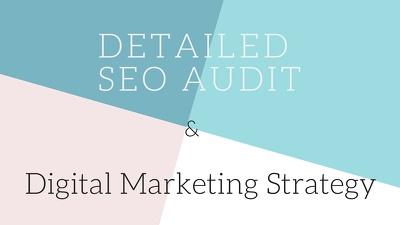 Provide Detailed Wordpress SEO Audit & Develop an In-Depth Digital Marketing Strategy