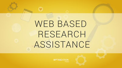 Assist you in online searching/web based research