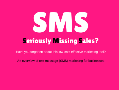 Send an text message (sms) marketing campaign (up to 1,000 contacts)