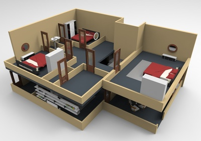 convert your 2D floor plans to 3D floor plans.