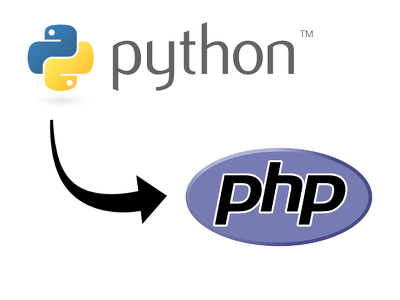 Convert your 100 lines of Python code to PHP