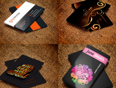 Design awesome,stylish and professional  business card with unlimited revision