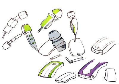 Create exciting concept sketches for your idea.