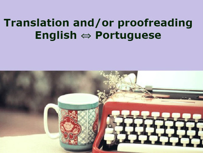Translate and/or proofread a 500 words long text  from English  Portuguese