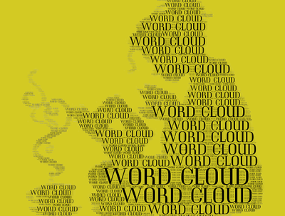Create a mind blowing  word cloud /tag cloud