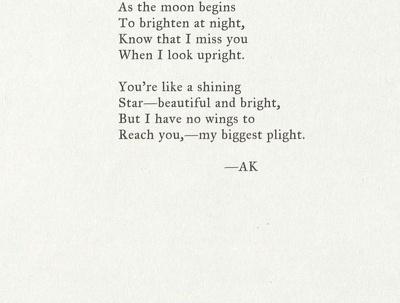 Write a beautiful poem