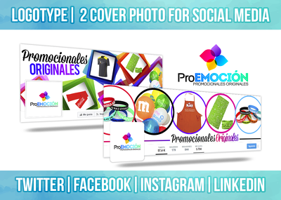 Design 2 Cover Photo + Profile Picture for your Social Media in 1 Day!