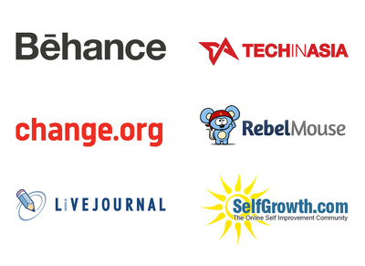 Guest post on behance, change.org, livejournal, techinasia, rebelmouse, selfgrowth