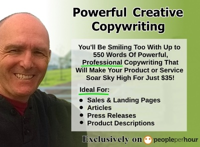 Write up to 550 words of professional copywriting