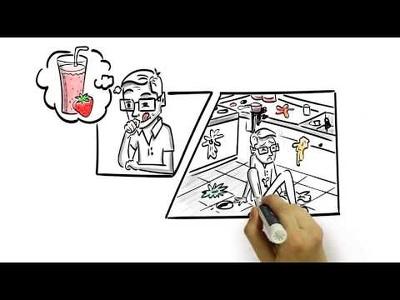 Do Custom Whiteboard animation, Doodle, Explainer video for Marketing