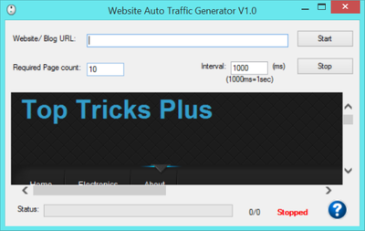 Give you lots of traffic generators to explode your business