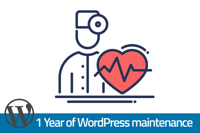 Maintain WordPress for 1 Year