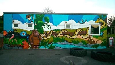 Create a childrens mural