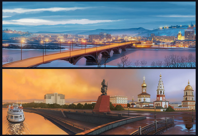 Create high quality landscape illustration/ Backgrounds/ Environment design