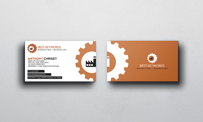 Make a visiting card for your company