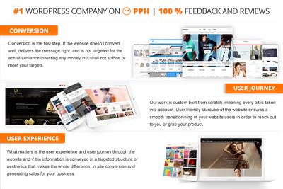 Design & Develop a Bespoke WordPress Website, WordPress E Commerce Website Design