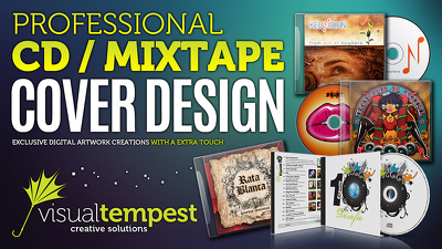 Design a professional CD / Mixtape cover