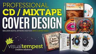 Design a professional CD / Mixtape cover