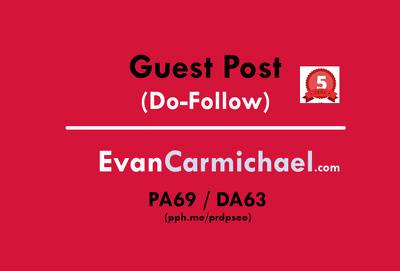 Guest post on EvanCarmichael - EvanCarmichael.com (Do-Follow)