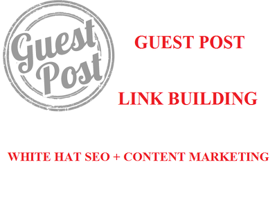 Publish 4 Guest Posts On General Niche SEO Content Marketing