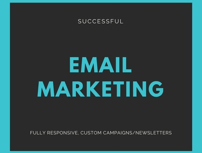 Create a custom email campaign or newsletter for your business on Mail Chimp